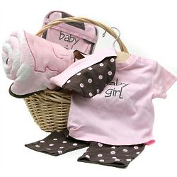 Elegant Baby Girl Basket