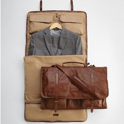 Leather Excursion Garment Bag