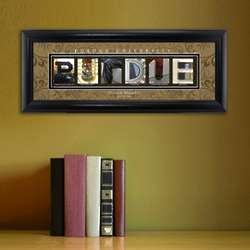 Purdue University College Art Print