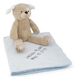 Puppy Bedtime Huggie Blanket