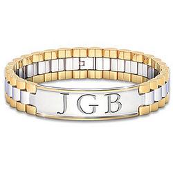 Always My Son Personalized Men's Bracelet