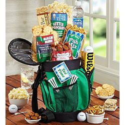 Golf and Snack Gift Tote Bag