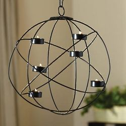 Tea Light Sphere Pendant