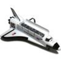 Die-Cast Metal Pull Back Space Shuttle Toy