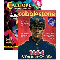 Calliope/Cobblestone Combo Magazine Subscription