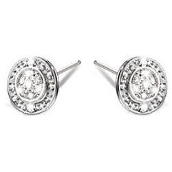 Hidden Message of Love Diamond Earrings