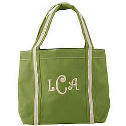 Personalized Mini Tote in Lime