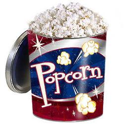 Gourmet Popcorn Retro Gift Tin