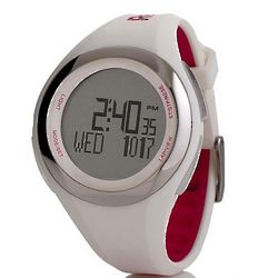 White Heart Rate Monitor Watch