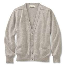 Men's Lambswool Cardigan