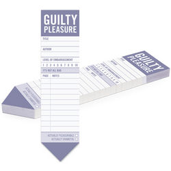 Guilty Pleasure Bookmark Pad