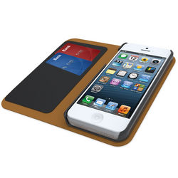 iPhone 5 Leather 2 Card Wallet