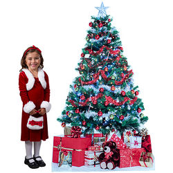 Christmas Tree and Presents Standee