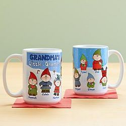 Personalized Little Gnomies Mug