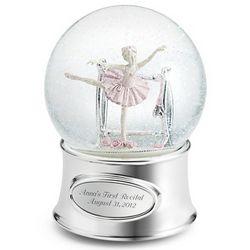 Ballerina Girl Snow Globe
