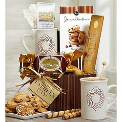 Dad's Favorite Blend Coffee and Sweets Gift Basket