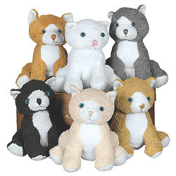 Plush Realistic Cat Stuffed Animals