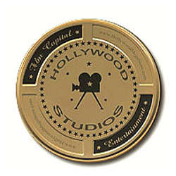 Mini Hollywood Studios Gold Film Cans