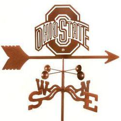 Ohio State University Steel Weathervane