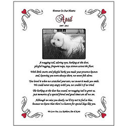 Personalized Pet Memorial Poem