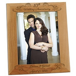 Wedding Anniversary 8x10 Photo Frame