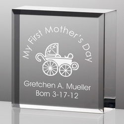 Tiny Treasures First Mothers Day Plaque