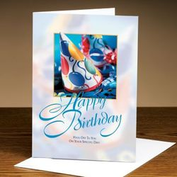 Happy Birthday Hat Greeting Card Pack