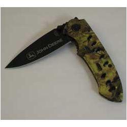 John Deere Dakota Hawkeye Camouflage Knife