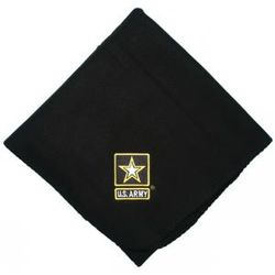 Army Star Logo Embroidered Blanket