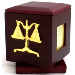 Legal Revolving Cube Clock