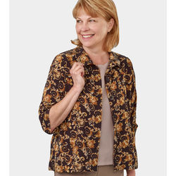 Women's Adaptive Open Back Fooler Blouse