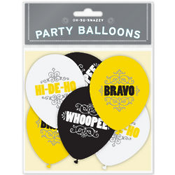 Oh-So-Snazzy Balloons