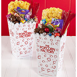 Popcorn and Treats Movie Night Scoop Boxes