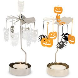Autumn Carousel Candle Holder