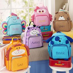 Personalized Animal Canvas Backpack