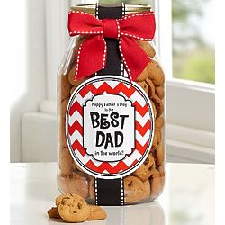 To the Best Dad Chocolate Chip Cookie Jar