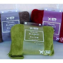 Lug Travel Blanket with Pillow Gift Set