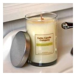Irish Linen Jar Candle