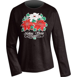 Happy Christmas Poinsetta Shirt