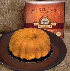 Wicked Jack's Butter Rum Cake