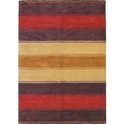 Gabbeh Wool Rug - 5'6 x 7'10