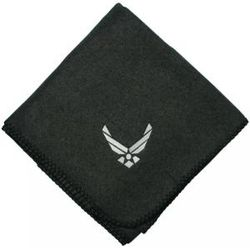 Air Force New Logo Embroidered Blanket