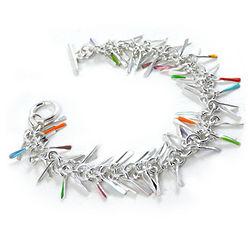 Sterling Silver Shimmy Bracelet