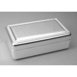 Engraved Medium Velvet Jewelry Box
