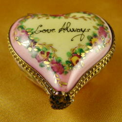 Heart Love Always Limoges Box
