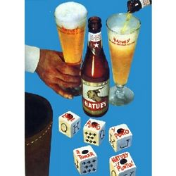 Cerveza Hatuey Vintage Cuban Ad Poster