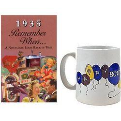 80th Birthday Gift Combo