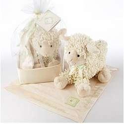 Love Ewe Plush Lamb and Blanket