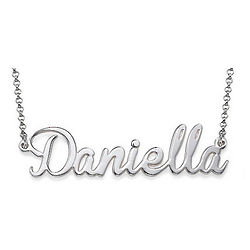 Personalized Name Necklace with Integrated Charm