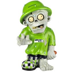 Seattle Seahawks Neon Green Zombie Figurine